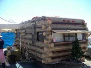 Log Camper