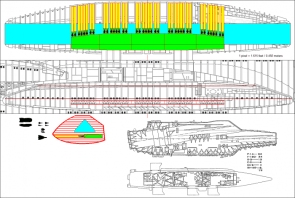 Battlestar flight pod vs. Aircraft Carrier
