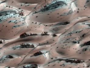 Mars bleeds