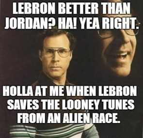Space Jam=Basketball Royalty