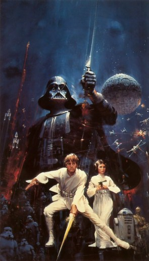Star Wars – paperback cover