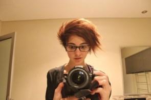 Shock of hair
