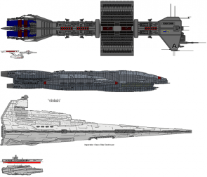 Starship smorgasbord