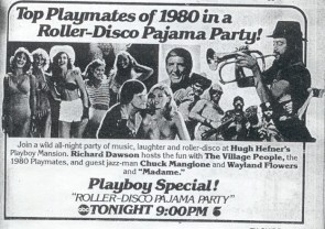Playboy Roller Disco and Pajama Party