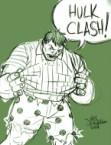 Hulk clash