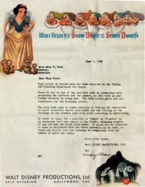 Disney Rejection