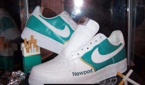 Cigarette sneakers