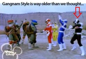 Power Rangers…doing it since the 90s