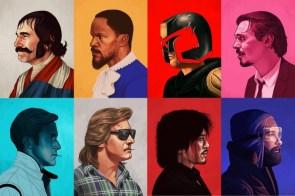 Movie Character Portraits