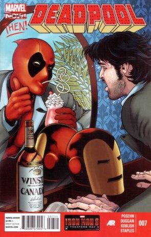 Deadpool trolling Tony