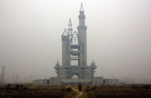 Abandoned Chinese amusement park