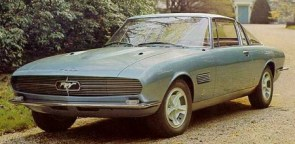 1965 Ford Mustang Concept by Bertone