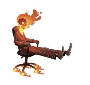 Office Ghost Rider