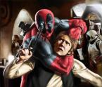 Deadpool and Han:  Disney Best Friends