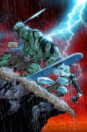 Surfer vs Hulk