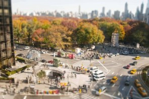 New York tilt-shift