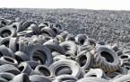 Tyre graveyard