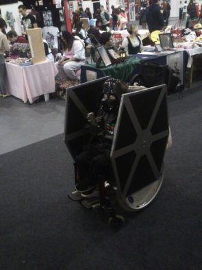 Darth Vader TIE Fighter Wheelchair