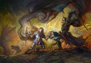 Eowyn vs the Witch-King of Angmar