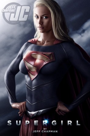 (Fake) Supergirl movie poster by Jeff Chapman