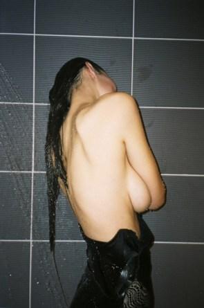 shower shy