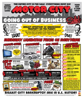 Motor City: Going Out of Business Sale