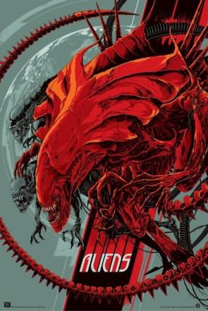 Aliens and Predator Mondo Posters