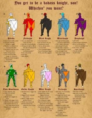 badass knights