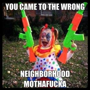 Evil Clown Baby