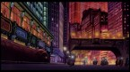 the streets of Neo Tokyo