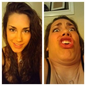 Hot girls make ugly faces
