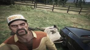 A cow ran into my car