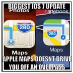 Biggest iOS7 update
