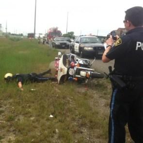 Go home cop