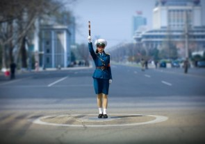 Directing invisible traffic in North Korea