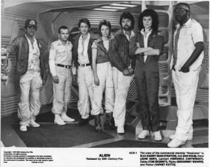 The Crew of the Nostromo