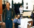 Jack Nicholson and Stanley Kubrick