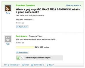 Sandwich comeback