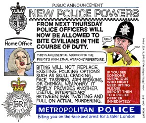 New police powers