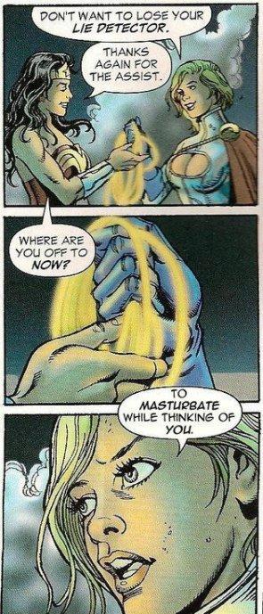 Wonder Woman's magic rope