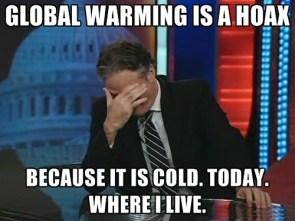 Global warming is a myth