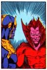 Thanos & Mephisto