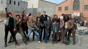 The Walking Dead Cast Having Fun