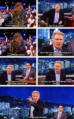 Han vs Chewie