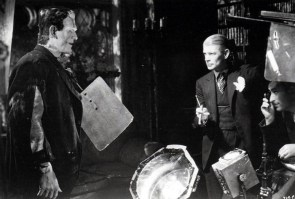 James Whale and friend