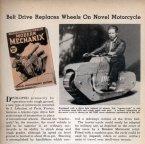 Belt Driven Motorcycle