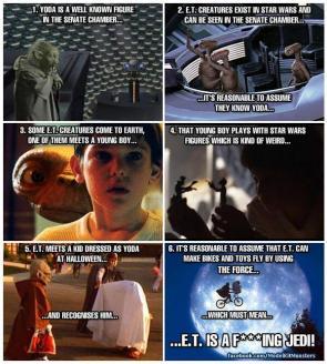 E.T & Yoda
