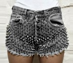 Spiky shorts