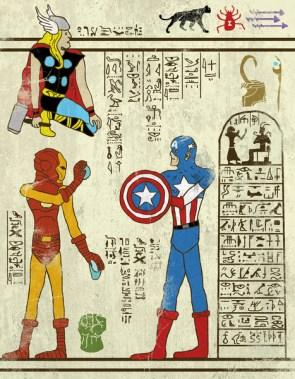 Marvel hieros
