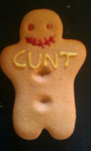 My wife baked me something